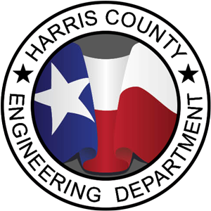 Seal of the Harris County Engineering Department