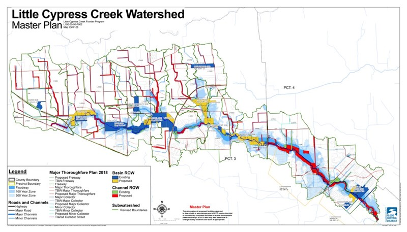 Little Cypress Creek Watershed Master Plan