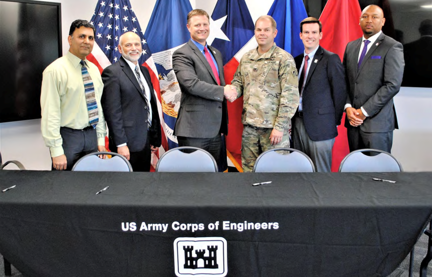 HARRIS COUNTY FLOOD CONTROL DISTRICT AND U.S. ARMY CORPS OF ENGINEERS SIGN AGREEMENT FOR CLEAR CREEK FEDERAL FLOOD RISK MANAGEMENT PROJECT