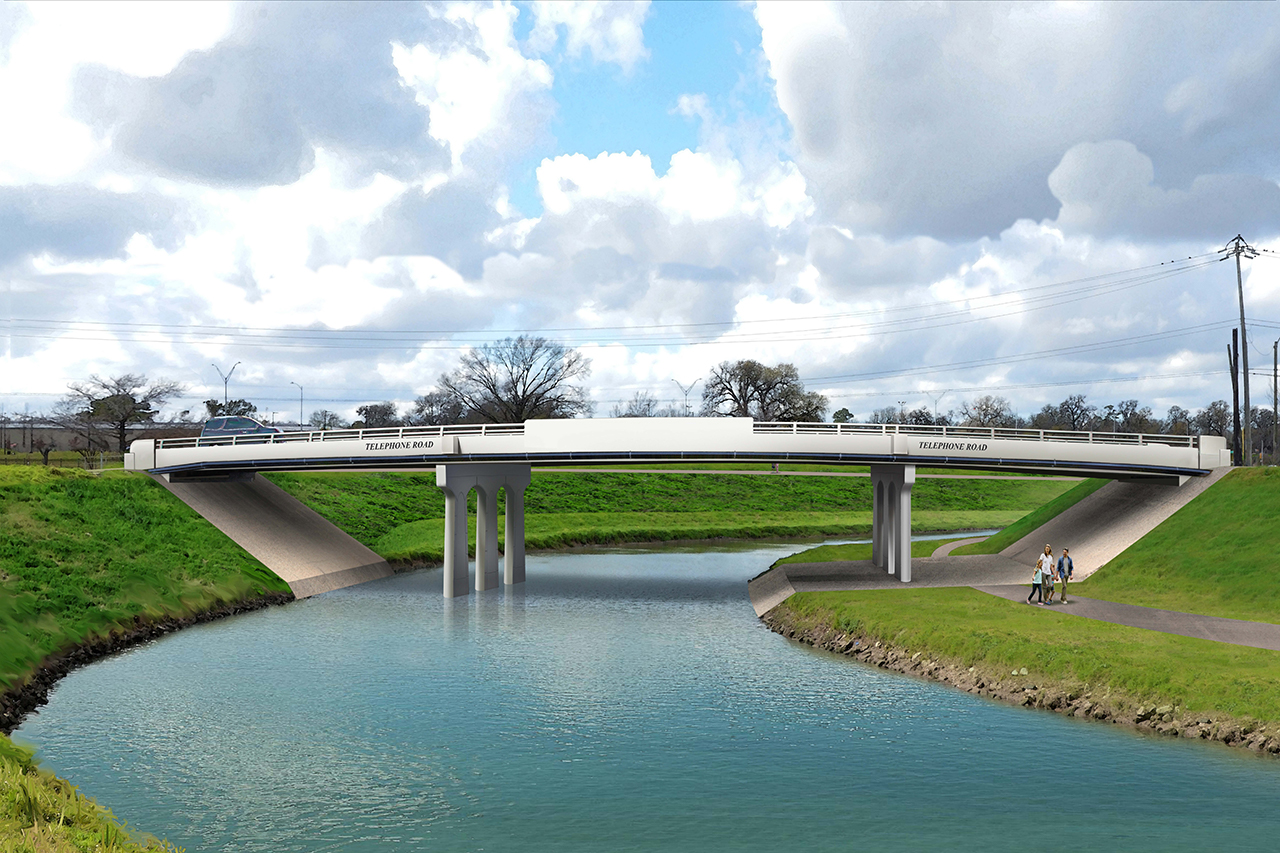 HARRIS COUNTY FLOOD CONTROL DISTRICT AWARDS CONTRACT FOR REMAINING PROJECT BRAYS BRIDGES