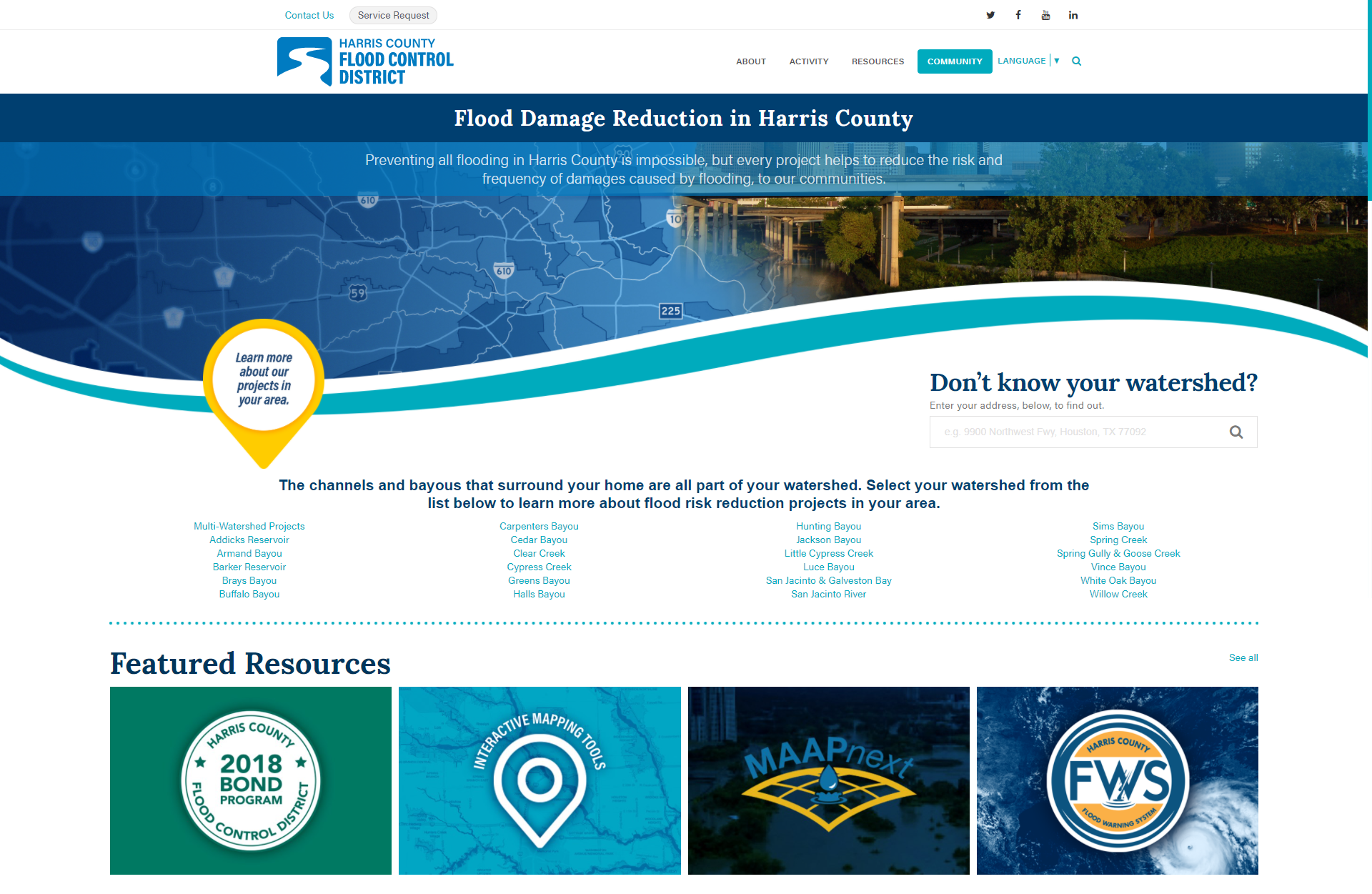 Flood Control District Website Gets a Fresh Look
