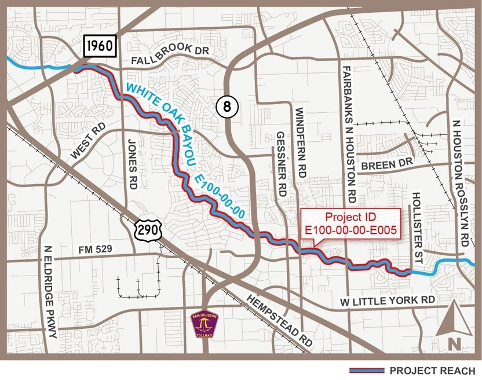 WHITE OAK BAYOU FEDERAL PROJECT EXPECTED TO BE COMPLETED IN 2021